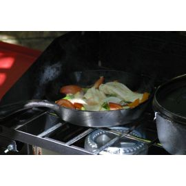 Tigaie adanca rotunda din fonta cu maner Camp Chef 30 cm CC-SK12