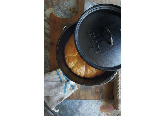 Ceaun din fonta cu capac - cuptor olandez Lodge 30,2 cm 5,7 litri L-12CO3