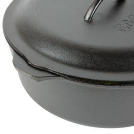 Ceaun din fonta cu capac - cuptor olandez Lodge 33 cm 8,5 litri L-12DO3 - 5