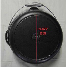 Ceaun din fonta cu capac - cuptor olandez Lodge 33 cm 8,5 litri L-12DO3 - 20