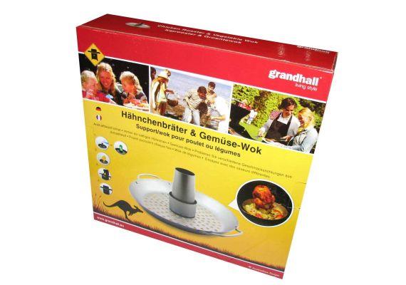 Accesoriu pentru gatit pui intreg si wok pentru legume Grand Hall A06616034I