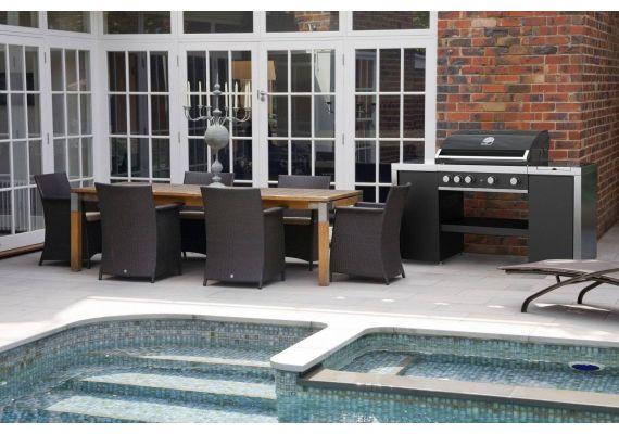 Stand insula cu arzator lateral pentru gratar Grand Hall Maxim/Premium GT B17102650A