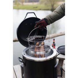 Afumatoare, cuptor si grill pe gaz cu arzator din Inox, Char-Broil The Big Easy 140678