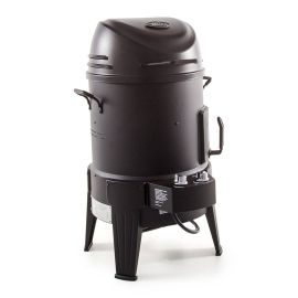Afumatoare, cuptor si grill pe gaz cu arzator din Inox, Char-Broil The Big Easy 140678 - 1