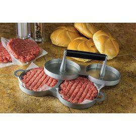 Presa dubla hamburger din aluminiu Char-Broil 140539