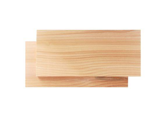 Set 2 placi din lemn de cedru pentru gatire la gratar Char-Broil 140769 - 1