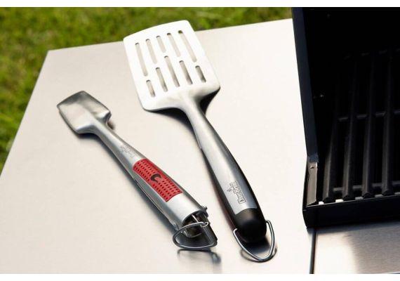 Set 2 ustensile din inox pentru gratar Premium Char-Broil 140543