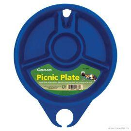 Farfurie pentru picnic din plastic dur Coghlans C1660