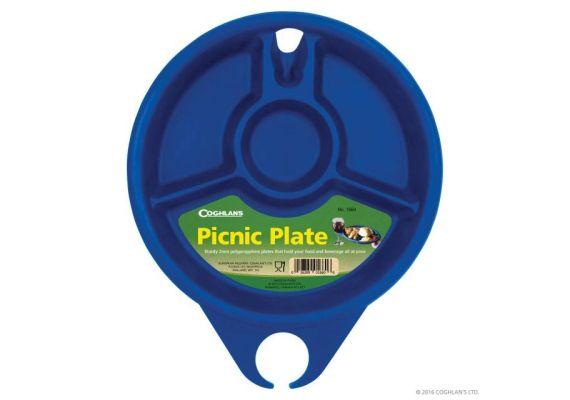 Farfurie pentru picnic din plastic dur Coghlans C1660 - 1