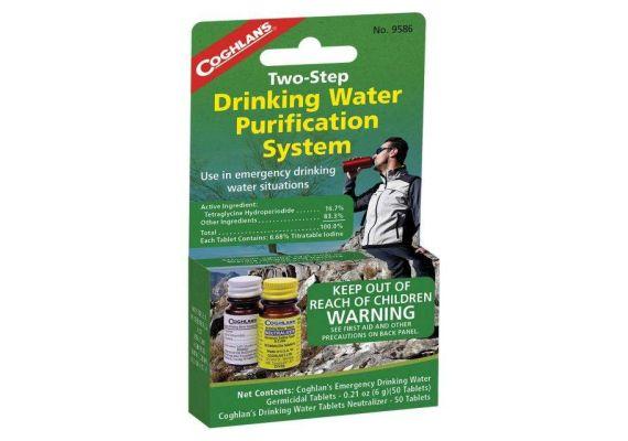 Tratament apa potabila in 2 pasi Coghlans C9586 - 1