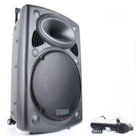BOXA PORTABILA 15 inch/38CM 800W 12/230V USB/MP3 PORT15UHF-BT