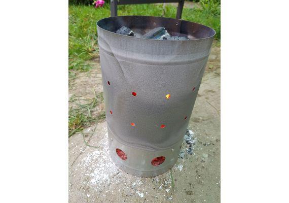 Carbune de gratar 10 kg tip A brichete din rumegus Bioten