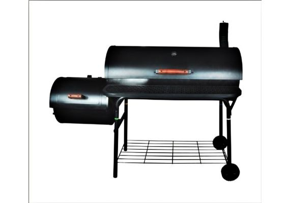Gratar pe carbuni cu afumatoare American BBQ Activa 11235