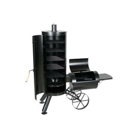 Gratar pe carbuni cu afumatoare American BBQ Springfield Activa 11230