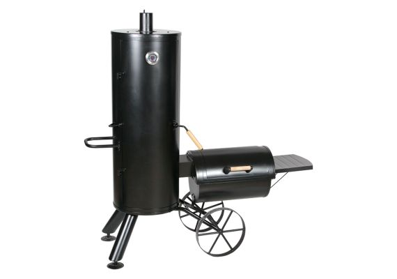 Gratar pe carbuni cu afumatoare American BBQ Springfield Activa 11230 - 1