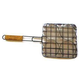 Accesoriu gatire 4 hamburgeri 24 x 24 cm Activa 16451