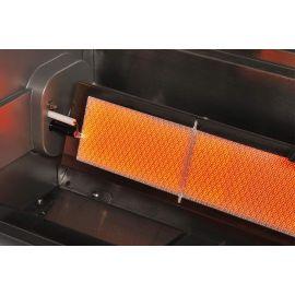 Gratar pe gaz cu 4 arzatoare infrarosu, incastrabil, gratare din fonta, Crossray by Heatstrip TCS4EU30