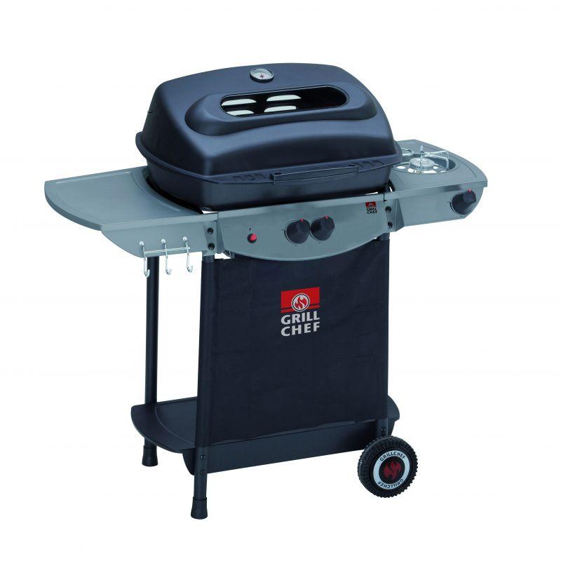 Gratar pe gaz Lava Rock Atracto Grill Chef Landmann 12442