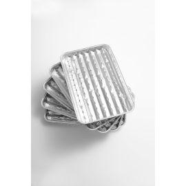 Tava din aluminiu pentru gratar, set 5 bucati, 33 x 25 cm, Landmann 0250 - 1