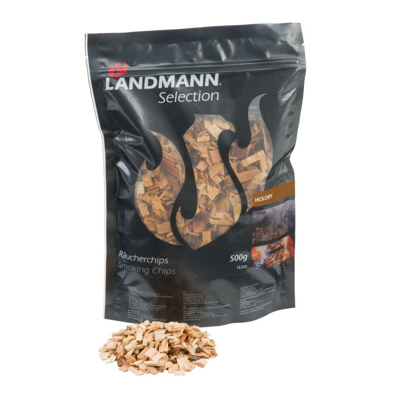 Aschii afumare lemn hickory Landmann 16300
