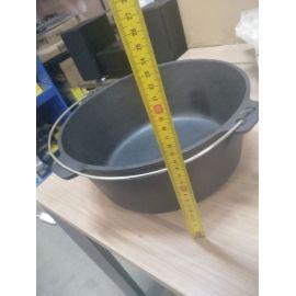 Ceaun din fonta cu capac 7,2 litri PFH008