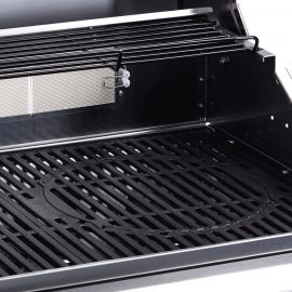Gratar pe gaz, 3 arzatoare inox, arzator infrarosu, grile fonta, Enders Kansas Pro 3 SIK Turbo 8707 - 2