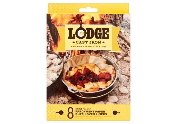Hartie pentru copt cuptor olandez set 8 bucati Lodge L-A5DOL