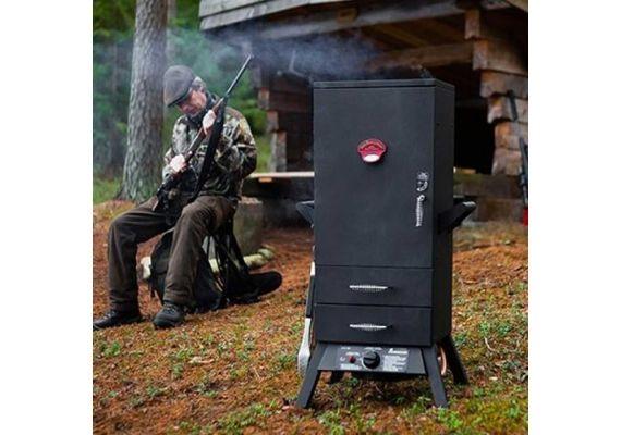 Afumatoare pe gaz cu 2 sertare Tennessee Smoky Mountain Landmann 12093