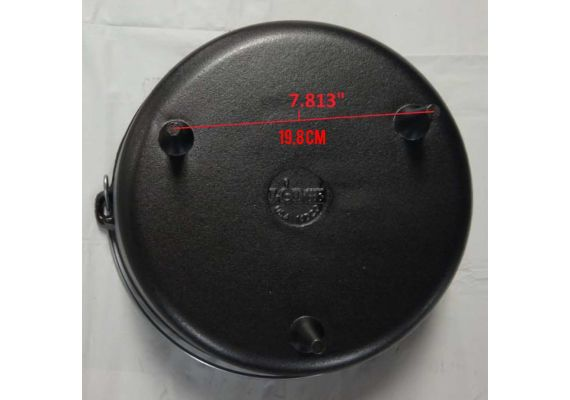 Ceaun din fonta cu capac - cuptor olandez Lodge 36 cm 9,5 litri L-14DCO3
