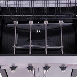 Gratar pe gaz Char-Broil Performance 440S, 4 arzatoare din inox, TRU-Infrared