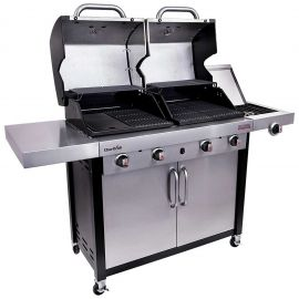 Gratar pe gaz din inox Double Header Char-Broil Professional 4600S 140754 - 4