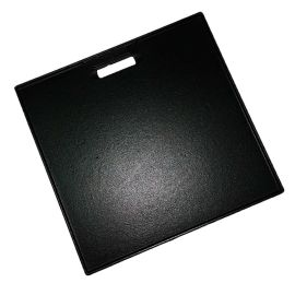 Plita din fonta cu 2 fete neteda si grill 38 x 39 cm Char-Broil 140573