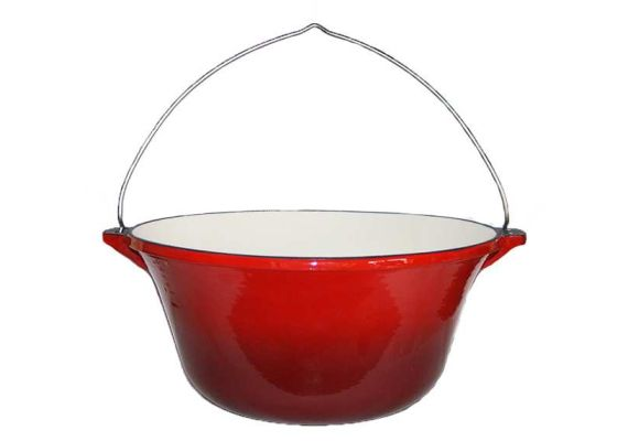 Ceaun din fonta emailata 7,2 litri PFH003