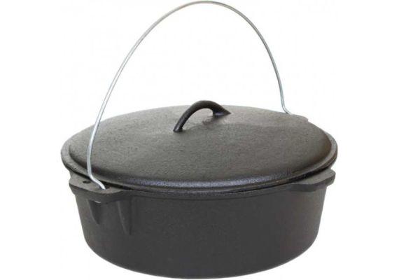 Ceaun din fonta cu capac 7,2 litri PFH008 - 1