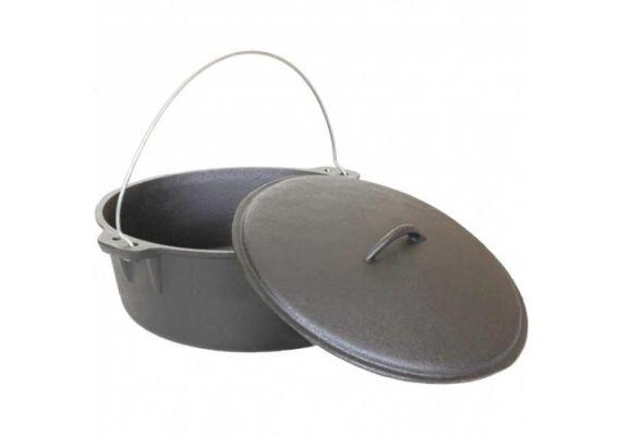 Ceaun din fonta cu capac 5,5 litri PFH007