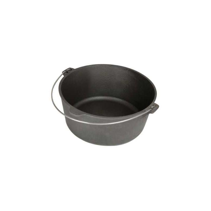 Ceaun din fonta 13 litri plat PFH011