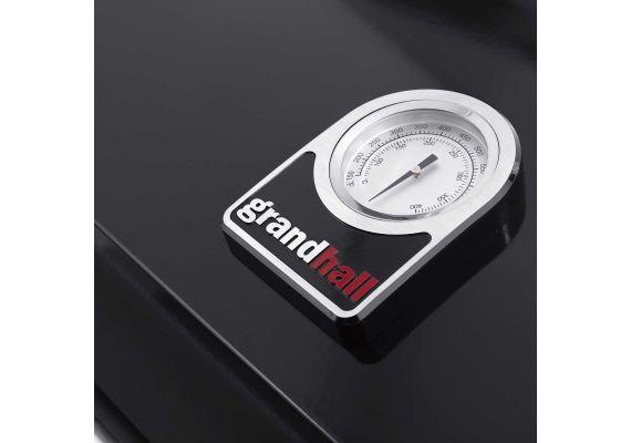 Gratar pe gaz cu 3 arzatoare din inox, incastrabil, gratare din fonta, Grand Hall Premium GT3 K03000196A