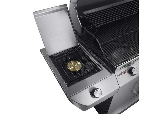 Gratar pe gaz cu 3 arzatoare din inox, TRU-Infrared, gratare din fonta, Char-Broil Performance T36G5