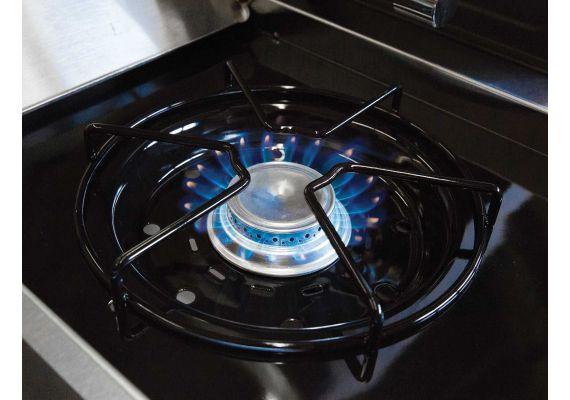 Gratar pe gaz Broil King Crown Classic 330, 3 arzatoare din inox, gratare din fonta
