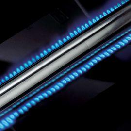 Gratar pe gaz Broil King GEM 340, 3 arzatoare din inox, gratare din fonta, cutie de ardere din aluminiu turnat