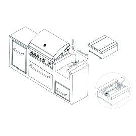 Arzator lateral incastrabil infrarosu Grand Hall K01000195A - 10