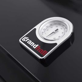 Gratar pe gaz Grand Hall Premium GT3 + Stand insula cu arzator lateral