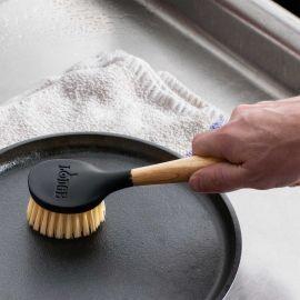 Perie pentru curatat vasele din fonta Lodge 25 cm L-SCRBRSH