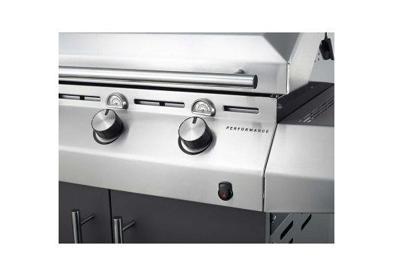 Gratar pe gaz cu 3 arzatoare din inox, TRU-Infrared, gratare din fonta, Char-Broil Performance T36G 140674