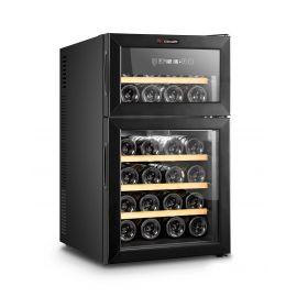 Racitor de vin, 24 sticle, termoelectric, 2 zone DOPPIOVINO24