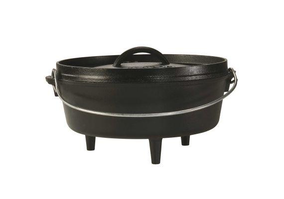 Ceaun din fonta cu capac - cuptor olandez Lodge 25,4 cm 3,7 litri L-10CO3 - 1