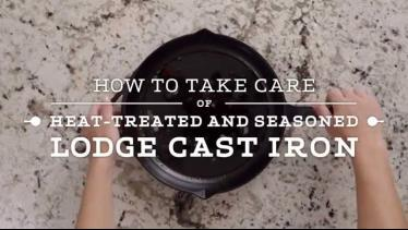 How to Clean Lodge Heat-Treated Cast Iron