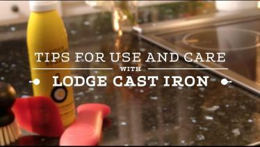 Quick Tips for Cast Iron Use & Care