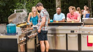 Char-Broil Modular Outdoor Kitchen Product Walkthr